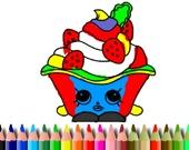 Раскраска: Тортик