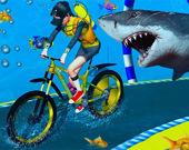 Подводное приключение велосипедиста