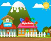 Счастливая деревня: развивающие игры для детей