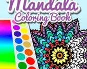 Мандала: Книга-раскраска