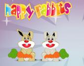 Счастливые кролики