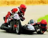 Гонка на мото-коляске - Пазл