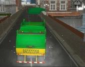 За рулем мусоровоза в Амстердаме