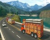 Индийский грузовик до Порта Гвадар