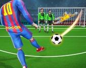 Футбольные подачи - Борьба Месси