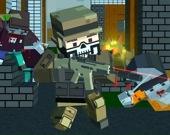 Пиксельный охотник на зомби - Мультиплеер