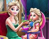 Покорми Малышей Ледяной Королевы