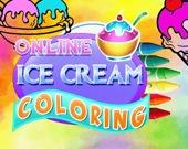 Раскраска: Мороженное