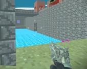 Пиксельная боевая крепость