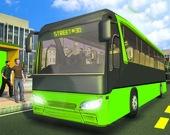 Городской пассажирский автобус 3D