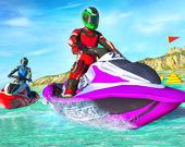Экстремальные гонки на водных лыжах