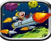 Ракета в космосе 1