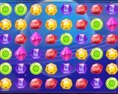 Космические кристаллы - 3 в ряд