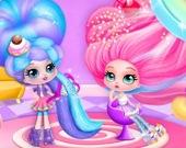 Парикмахерская: стиль сахарной ваты