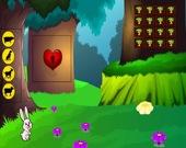 Побег скачущего кролика