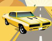 Американские машины: Найди отличия