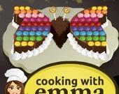 Готовим вместе с Эммой: Шоколадный торт-бабочка