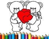 Раскраска: Счастливый день святого Валентина