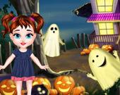 Малышка Тейлор Дом на Хэллоуин