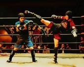 Бойцы на ринге