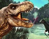 Динозавр на охоте