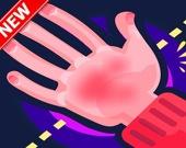 Красные руки - Шлепни по руке