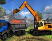 Строительные грузовики - Скрытые копатели