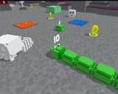 Блочная змейка 3D