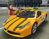 3D симулятор водителя такси в Нью-Йорке