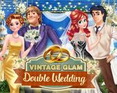 Винтаж: двойная свадьба