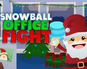 Офисный Бой Снежками