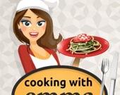 Готовим вместе с Эммой: Кабачковый спагетти Болоньезе