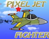 Пиксельный реактивный истребитель