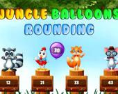 Воздушные шарики в джунглях