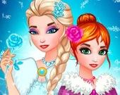 Наряд для Ледяной королевы