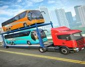 Грузовик - перевозчик городских автобусов