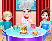 Малышка Тейлор - шеф в кафе