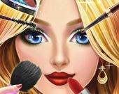 Макияж и наряд для принцессы онлайн