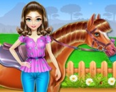 Забота и катания на лошади