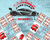 Игра на память: Карточки с машинами