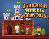 Замок принцессы в Хэллоуин