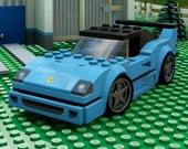 Автомобили Лего - Пазл