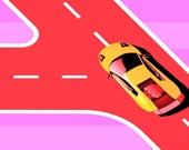 Раскрась автодорогу