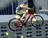 Велотрюки на крыше