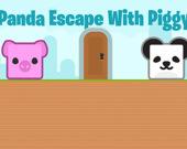 Побег панды со свинкой