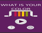 Какой твой цвет