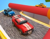 Забавная автогонка 3D