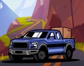 Водитель грузового джипа