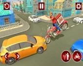Быстрый доставщик пиццы: игра 3D