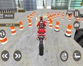 Увлекательные гонки на мотоциклах 3D: Парковка